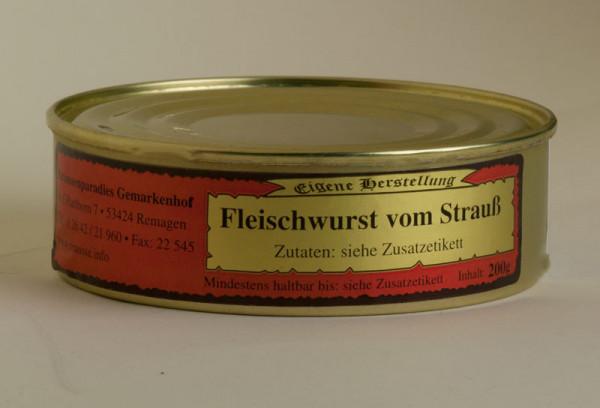 Fleischwurst vom Strauß 200g