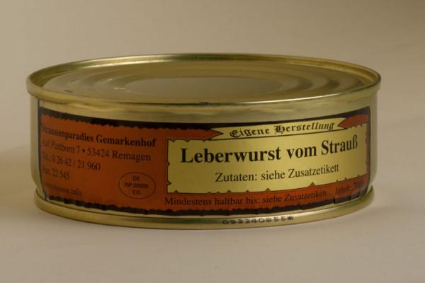 Leberwurst vom Strauß 200g
